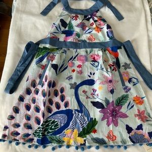 Anthropologie Kitchen - Anthropologie Apron; 100% Cotton; Floral Pattern